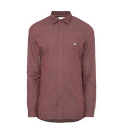 Polka Dot Jacquard Shirt