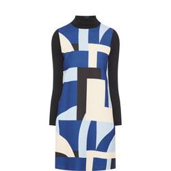 Patterned Shift Dress