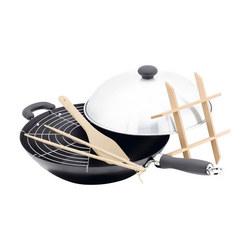 Judge Speciality Cookware, 6 Piece Wok Set, Non-Stick