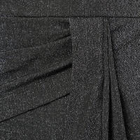 Lurex Asymmetrical Dress