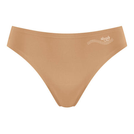 Zero One Bikini Brief Brown