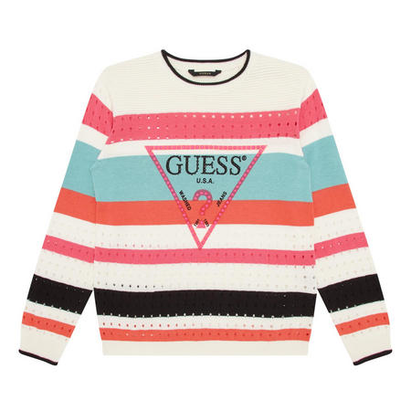 Girls Striped Sweater