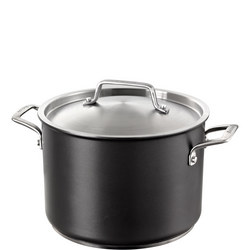 Authority Stockpot 24cm 7.6L Black