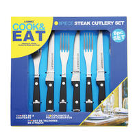 Cook and Eat Steak Set Multicolour