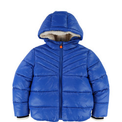 Fleece Lined Puffa Jacket