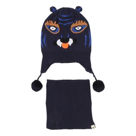 Tiger Hat And Snood Set
