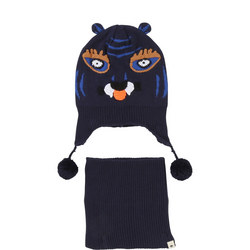 Tiger Hat And Snood Set