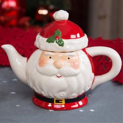 Dolomite Santa Head Teapot