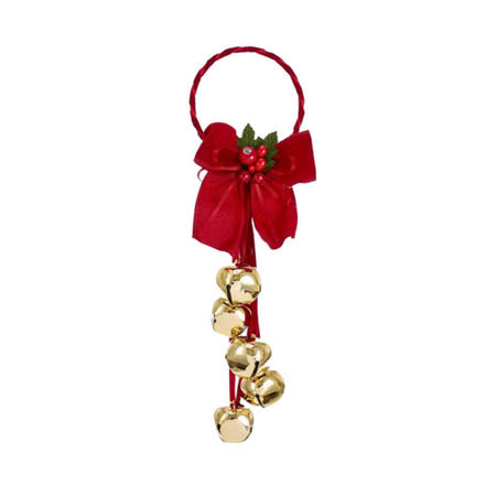 Bow With Bells Tree Decoration