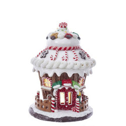 LED Gingerbread House 8.5 Inches