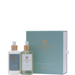 Luxury Mint Wash And Lotion Gift Set