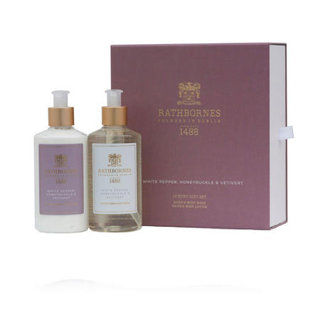 Luxury White Pepper Wash And Lotion Gift Set