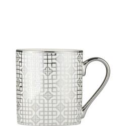 Art Deco Mug Silver