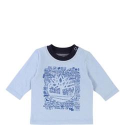 Long Sleeve Word Cloud T-Shirt