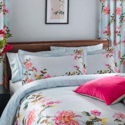 Oriental Watercolour Oxford Pillowcase