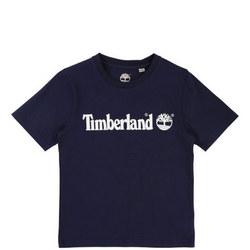 Boys Short Sleeve Logo T-Shirt