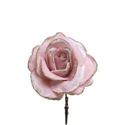 Velvet Rose With Clip