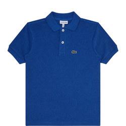 Boys Short Sleeve Piqué Polo Shirt