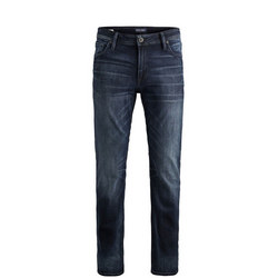 Clark Straight Jeans Dark Blue