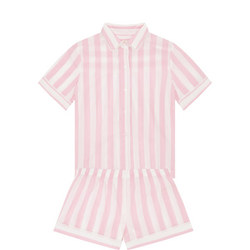 Bay Stripe Pyjama Set Pink