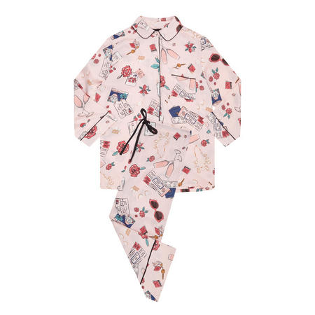 Honeymoon Pyjama Set Pink