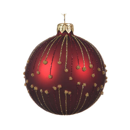 Glitter Lined Bauble
