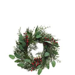 Red Berry Wreath 60cm