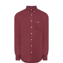 Solid Broadcloth Shirt