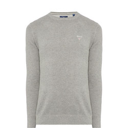 Piqué Crew Neck Sweater