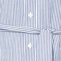 Seersucker Shirt Dress