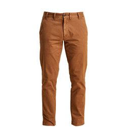 Neuston Stretch Brushed Twill Trousers