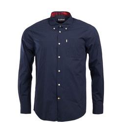 Tartan Collar Casual Shirt
