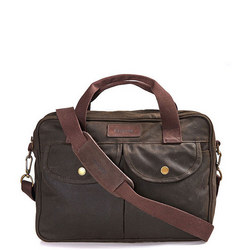 Longthorpe Wax Laptop Bag