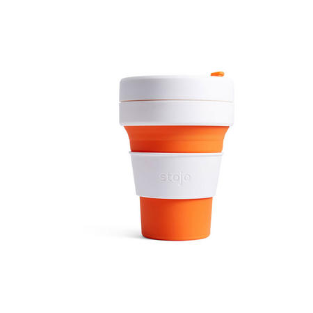 Collapsible Cup 12oz Orange