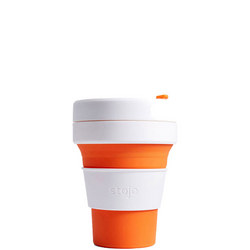 Stojo Collapsible Cup 12oz Orange