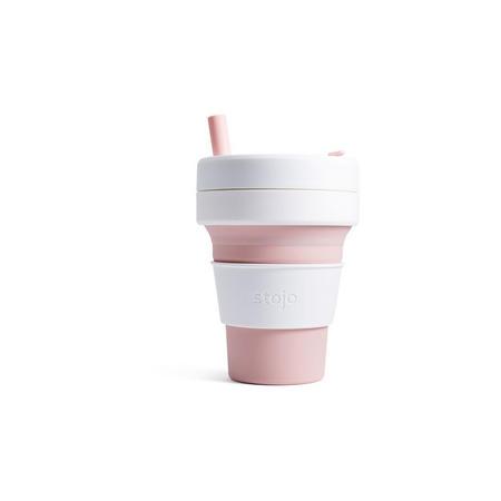 Stojo Biggie Collapsible Cup 16oz Rose Pink
