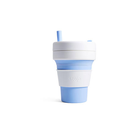 Biggie Collapsible Cup 16oz Sky Blue