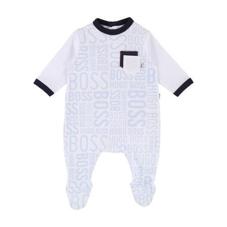 Babies Logo Print Bodysuit