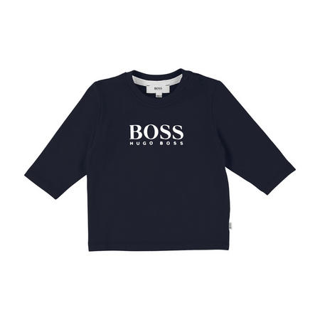 Boys Logo Long Sleeve T-Shirt
