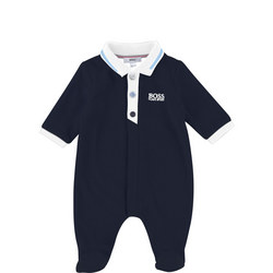 Babies Collar Bodysuit