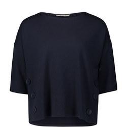 Button Detail T-Shirt