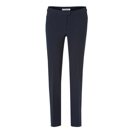 High Rise Slim Trousers
