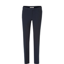 High Rise Slim Trousers