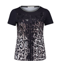 Leopard Sequin T-Shirt