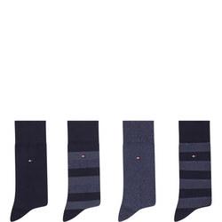 Four-Pack Socks Gift Box