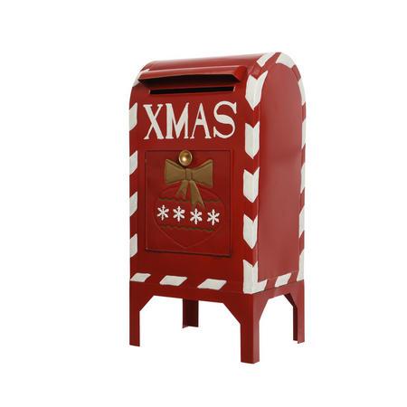 Christmas Mailbox.Kaemingk Christmas Mailbox Ornament