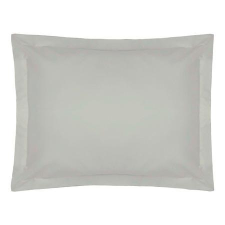 200 Thread Count Egyptian Cotton Oxford pillowcase Platinum