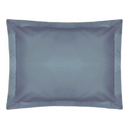 200 Thread Count Egyptian Cotton Oxford pillowcase Powder Steel