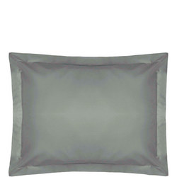 200 Thread Count Egyptian Cotton Oxford pillowcase Powder Silver