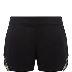 Chantilly Lace Silk Shorts